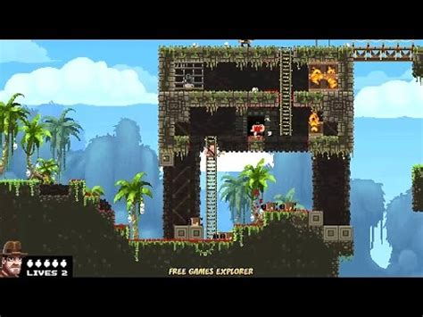 broforce full version crack broforce pc game gameplay descarga youtube