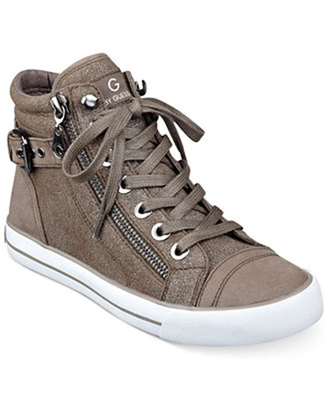 g by guess olama high top sneakers sneakers shoes macy s