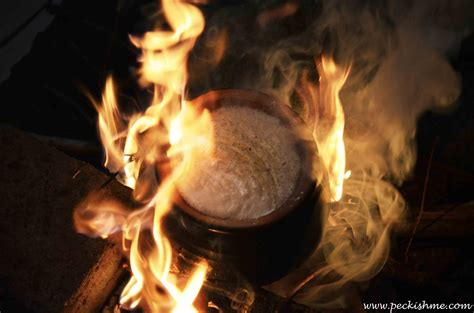 happy sinhala tamil new year on boiling milk on sri