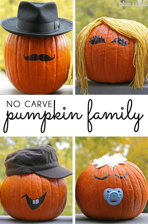 10 Easy No Carve Pumpkin No Carve Pumpkin Decorating Ideas Pumpkin Painting
