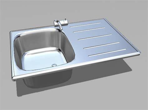 Kitchen Sink 3d Model Free