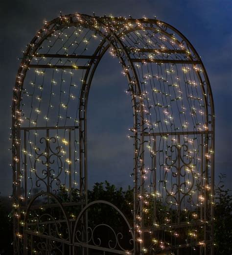 solar string lights for outdoors 25 best ideas about wrought iron trellis on