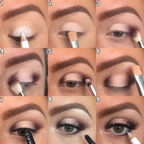 10 Steps For Makeup Look by Step By Step Makeup Artist Mascaras Halo