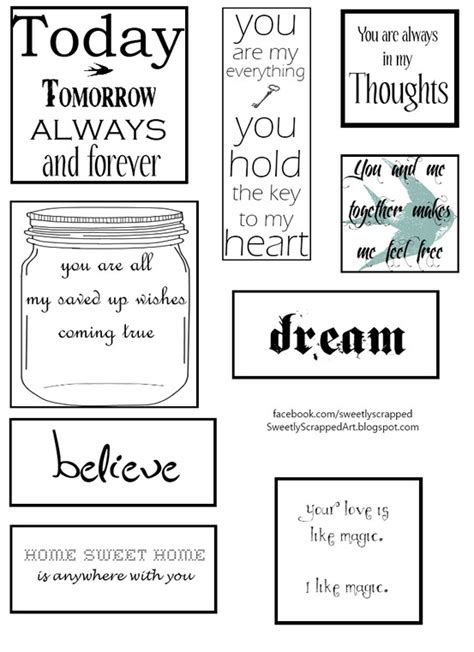 printable scrapbooking quotes printable scrapbooking quotes about boys quotesgram