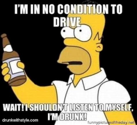 Drink Driving Meme - funny simpsons compilation