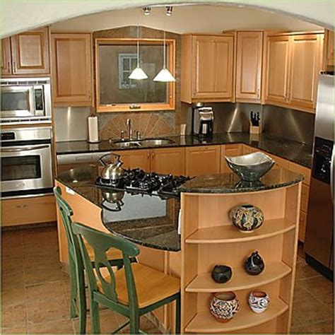 ideas for small kitchen islands small kitchen design with island beautiful