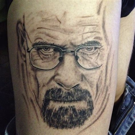 bryan cranston tattoo 25 fan breaking bad tattoos including bryan cranston