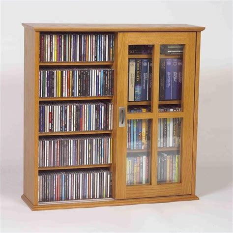 sliding door dvd storage cabinet leslie dame mission wall hanging two sliding dr cd dvd