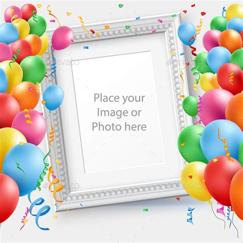 Happy Birthday Template By Nordan Thomp Graphicriver Happy Birthday Photoshop Template