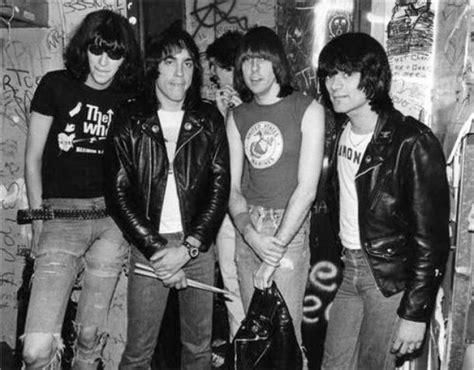 official uniform  iconic punk rockersthe ramones