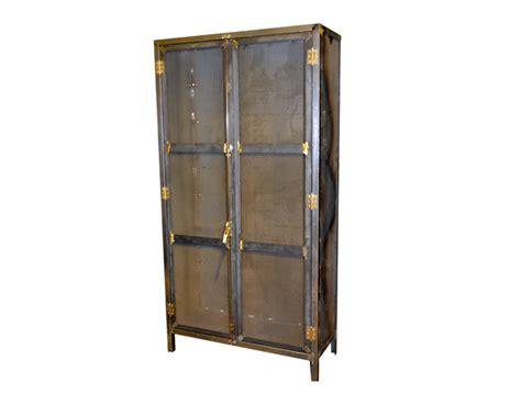 armarios vintage armario vintage muebles de hierro lat 243 n zinc inox