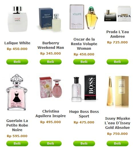 Harga Parfum Merk Shop belanja parfum original dengan harga diskon di jocelyns co