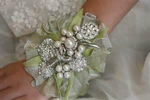 wrist corsage brooch wrist corsage wedding bridal jewelry