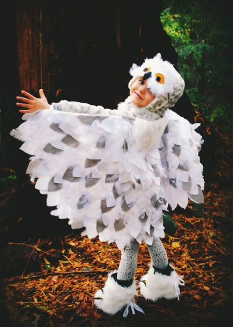 Handmade Owl Costume - no sew snowy owl costume diy my fav costume
