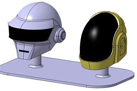 daft helmet catia stl 3d cad model grabcad