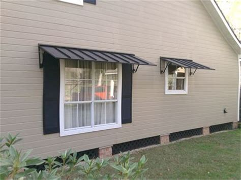 Metal Awnings For Windows by Shade And Protect Your Windows And Doors Today With Metal