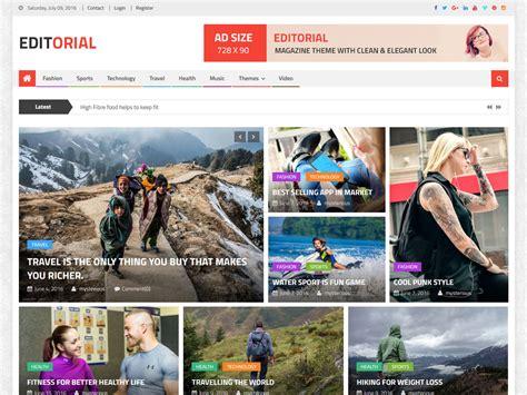 best free themes responsive best free responsive magazine themes
