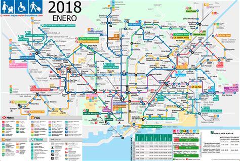 barcelona metro map barcelona subway map pdf my