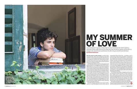 call me by your name of the week call me by your name radiates the heat