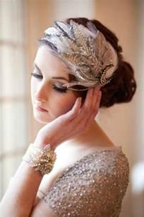 great gatsby wedding art deco hairpiece 2059605 weddbook