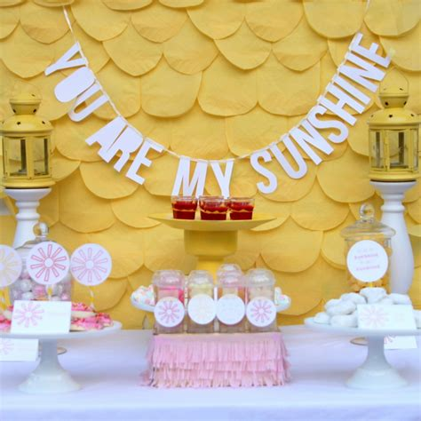 Decoration Ideas For Birthday At Home by You Are My Sunshine Baby Shower And Some Cheerful Baby