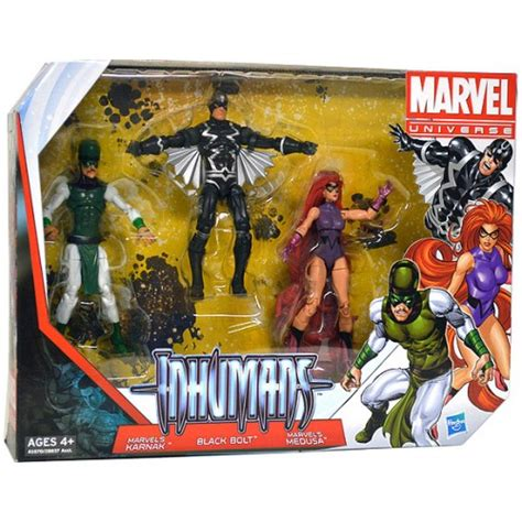 marvel universe 3 75 inch figure team pack series the inhumans