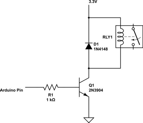transistor fet como switch voltage trouble on switching a 3v relay with arduino digital pins electrical engineering