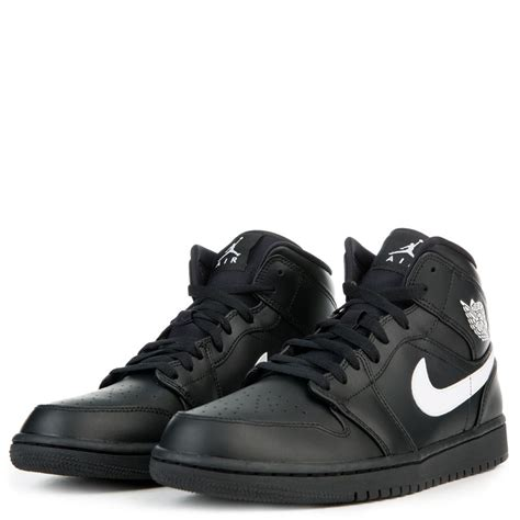 men jordan 1 c men s air jordan 1 mid black white shoes mens jordan