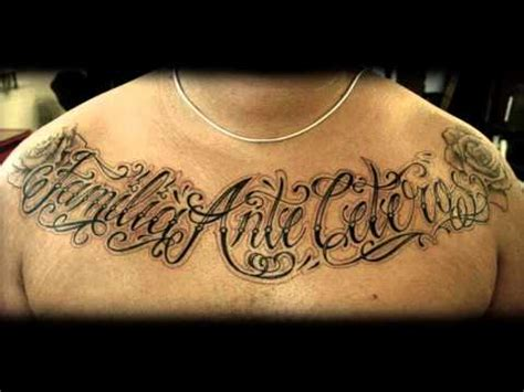chest lettering tattoo designs lettering tattoos lover