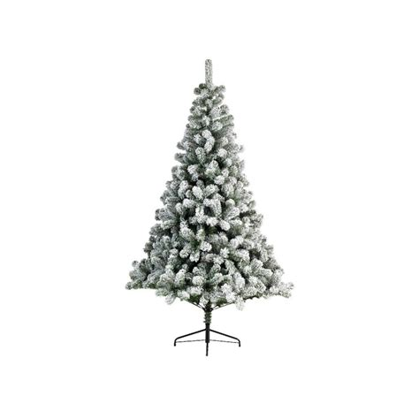 national tree snowy impearial snowy imperial pine artificial tree 180cm 6ft height