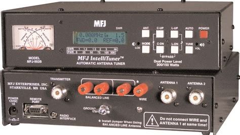 Mfj 974h Hf 1 8 54mhz 300w Blcd Line antenna tuners the hamstation your one stop on line source for radio
