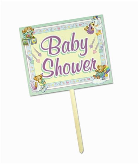 Baby Shower Yard Signs by Baby Shower Yard Sign Partycheap