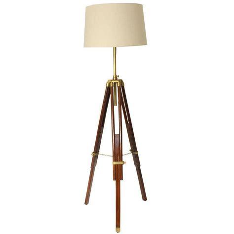 brass tripod floor l mid century tripod brass floor l lights and ls