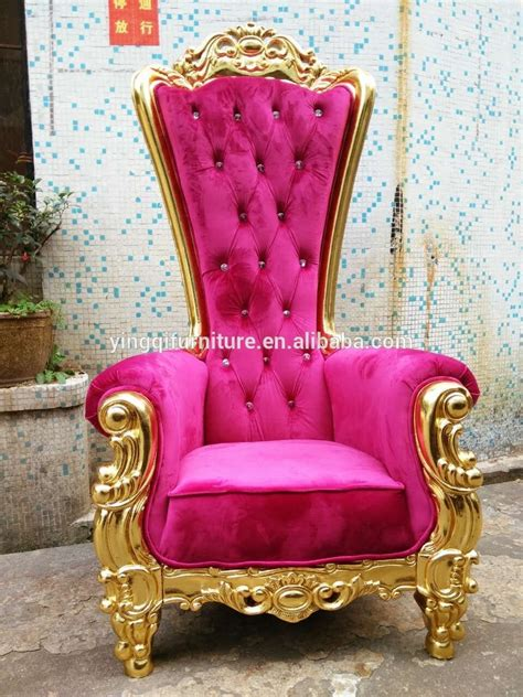 High Back Wedding King And Queen Throne Chairs   Buy King And Queen Chairs,King Throne Chairs