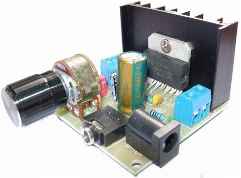 capacitor para estereo lificador pot 234 ncia est 233 reo tda7297 2 x 15 watts te1