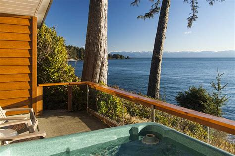 Fossil Bay Resort Private Hot Tub Cottages For 2 With Tub