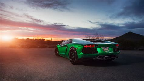 car wallpaper green lamborghini aventador green 4k wallpaper hd car