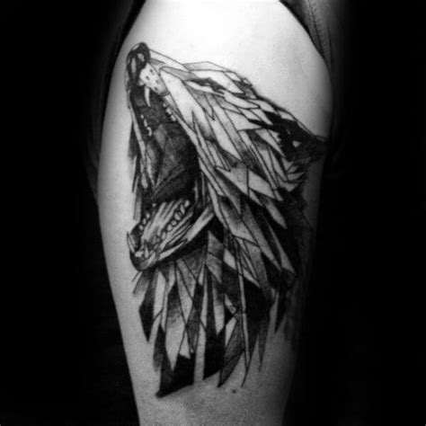 animal tattoo ideas for men the 85 best wolf tattoos for improb
