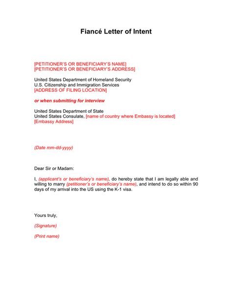 Sle Letter To Recruit Research Participants fiance letter of intent to sle 28 images 8 statement