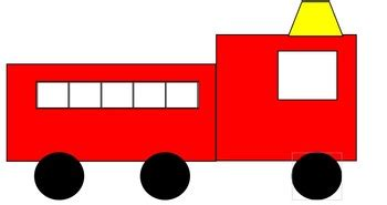 fire truck template by jazz s corner teachers pay teachers