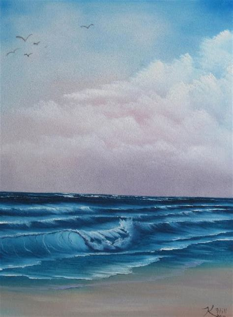 Bob Ross Crashing Wave Paintings For Sale Paintings Biz