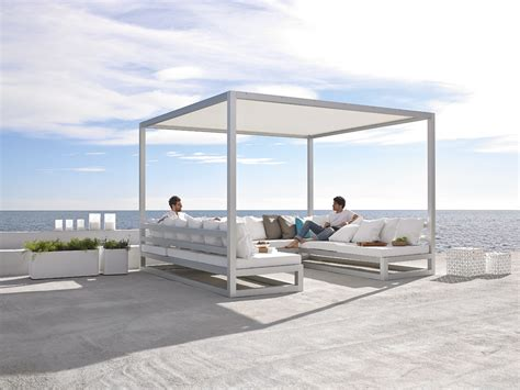 modern outdoor sofa pergola sofa outdoor spaces modern outdoor furniture