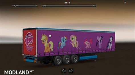 my trailer my pony friendship is magic trailer mod for ets 2