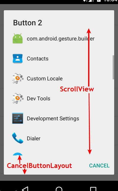 scrollview layout gravity android scrollview fills all the screen stack overflow