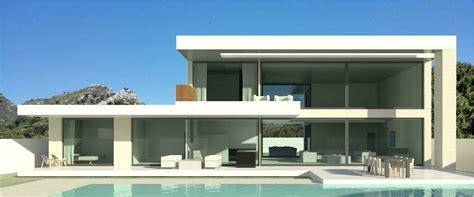 modern turnkey villas in spain france portugal 28 modern l shaped house upstairs 25 best ideas