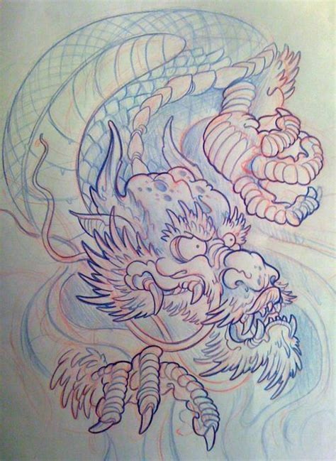 oriental tattoo artists uk 25 best japanese dragon tattoo flash images on pinterest