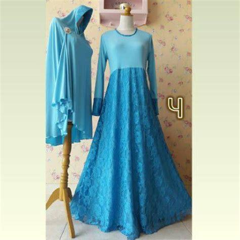 Baju Syar I 100 Buatan Designer gamis pesta brokat www supplierbusanamuslimah