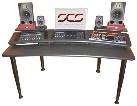 Sweetwater Studio Desk by Sound Construction Avm 6x3 Audio Mixing Mastering