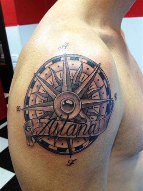 tattoo lettering shoulder shoulder lettering sun tattoo by wanted tattoo