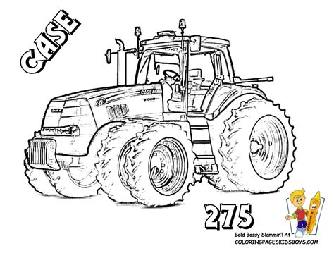 easy tractor coloring pages case tractors colouring pages farm coloring pages